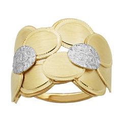 Womens 14K Gold Cocktail Ring