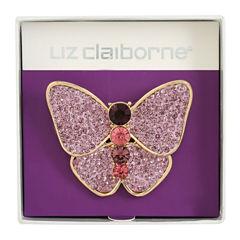 Liz Claiborne Purple Pin