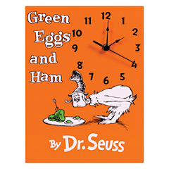 Trend Lab Dr. Seuss Green Eggs And Ham Wall Clock