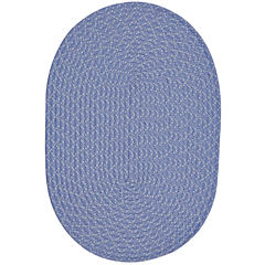 Better Trends Sunsplash Braided Oval Reversible Rugs
