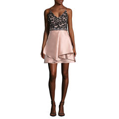 Byer California Sleeveless Party Dress-Juniors