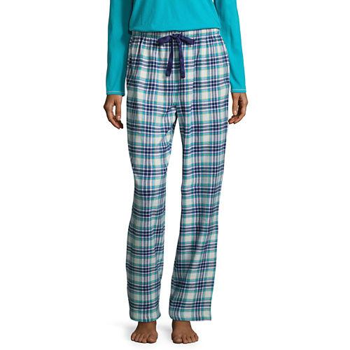 Sleep Chic Flannel Plaid Pajama Pants