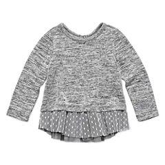 Arizona Short Sleeve Peplum Top - Baby Girls