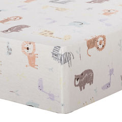 Trend Lab® Crayon Jungle Fitted Flannel Crib Sheet