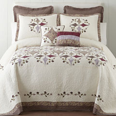 Home Expressions Lavender Bedspread & Accessories