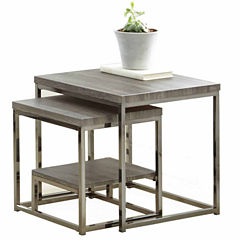 Steve Silver Stacey 2-pc. Nesting Tables