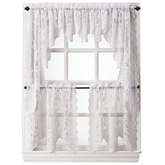 Home Expressions™ Jessica Lace Rod-Pocket Window Treatments