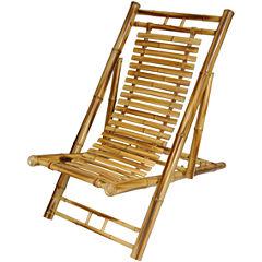 Oriental Furniture Japanese Bamboo Armchair