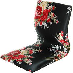 Oriental Furniture Tatami Meditation Armchair