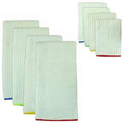 Primary Trim 8-pc. Dish Towel and Dishcloth Set