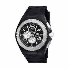Techno Marine Mens Black Strap Watch-Tm-115307