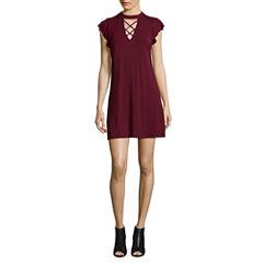 Heart N Soul Sleeveless A-Line Dress-Juniors