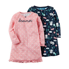 Carter's Long Sleeve Nightgown-Preschool Girls