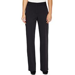 Liz Claiborne Audra Straight-Leg Pants - Tall