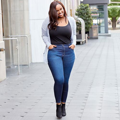 Boutique   Skinny Jeans-Plus (29/27 Short)