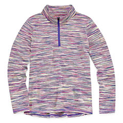 Xersion Quarter-Zip Pullover - Big Kid Girls Plus