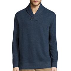 St. John's Bay® Long-Sleeve Shawl Pullover Sweater