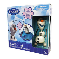 Cardinal Disney Frozen - Save Olaf Word Guessing Game