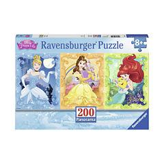 Ravensburger Beautiful Disney Princesses PanoramicPuzzle: 200 Pcs