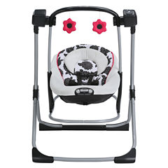 Graco® Cozy Duel Swing and Rocker - Azalea
