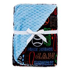 Okie Dokie® Baseball Blanket