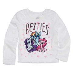 Long Sleeve My Little Pony Sweatshirt - Toddler Girls