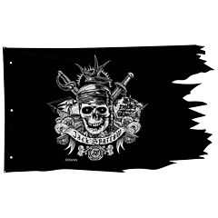Pirates of the Caribbean Dead Men Tell No Tales Pirate Flag Wall Decor (50