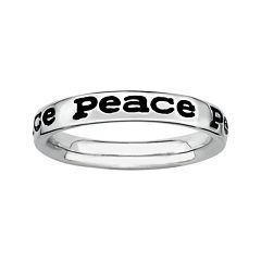 Personally Stackable Sterling Silver