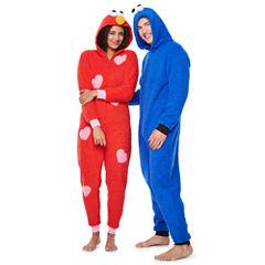 Sesame Street Elmo Long Sleeve One Piece Pajama