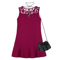 by&by girl Not Applicable Sleeveless A-Line Dress - Big Kid Girls
