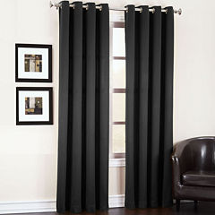 Sun Zero Garrett Room-Darkening Grommet-Top Curtain Panel
