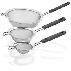 Polder® 3-pc. Mesh Handled Strainer Set