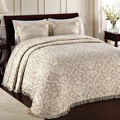 Lamont Home® Allover Brocade Bedspread & Accessories