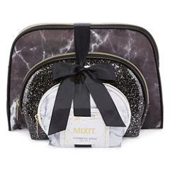 Mixit Black and White Makeup Bag