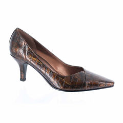 Easy Street Chiffon Womens Pumps