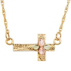Landstroms Black Hills Gold 10K Gold Pendant Necklace