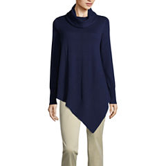 a.n.a Long Sleeve Cowl Neck Pullover Sweater