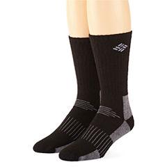 Columbia® 2-pk. Wool Blend Mens Crew Socks