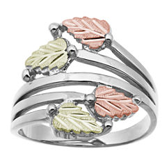 Black Hills Gold Black Hills Gold Landstroms Womens Sterling Silver Bypass Ring