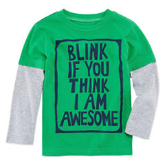 Okie Dokie Graphic T-Shirt-Toddler Boys