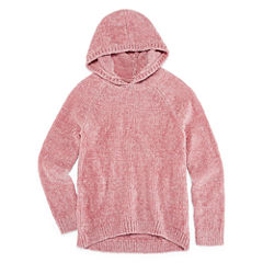 Arizona Hooded Super-Soft Sweater - Girls' 7-16 and Plus