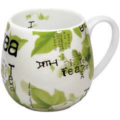 Konitz Tea Collage Set of 4 Snuggle Mugs