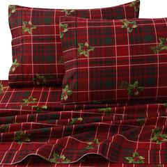 Tribeca Living Vintage Plaid Flannel Pillowcases