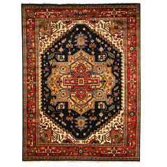 Eastern Rugs Hand Knotted Traditional Oriental Serapi Rug