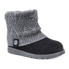 Muk Luks Patti Womens Water Resistant Winter Boots