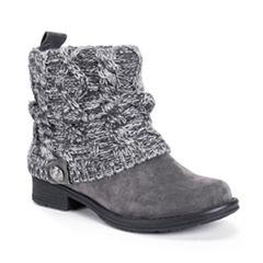 Muk Luks Cass Womens Water Resistant Winter Boots