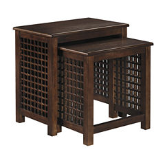 Signature Design by Ashley® Roxenton Nesting End Tables (Set of 2)