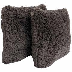Thro by Marlo Lorenz Chubby Faux Fur Throw Pillow2 Pack