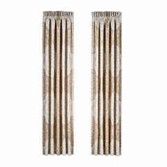 Queen Street Lambert Rod-Pocket Curtain Panel