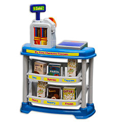 My First Checkout Counter 15-Pc. Toy Playset - Unisex